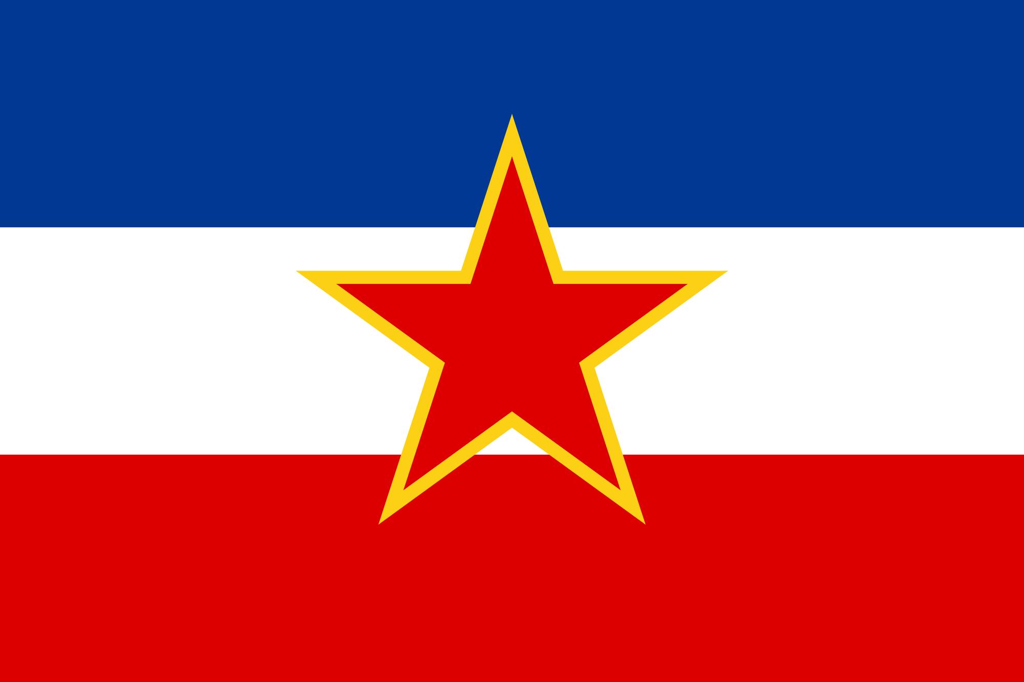 Bandiera Yugoslavia